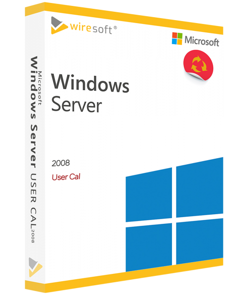 MICROSOFT WINDOWS SERVER 2008 USER CAL