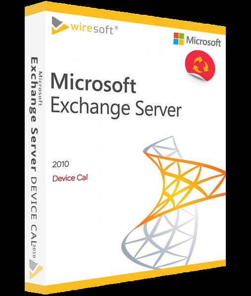 MICROSOFT EXCHANGE SERVER 2010 DEVICE CAL