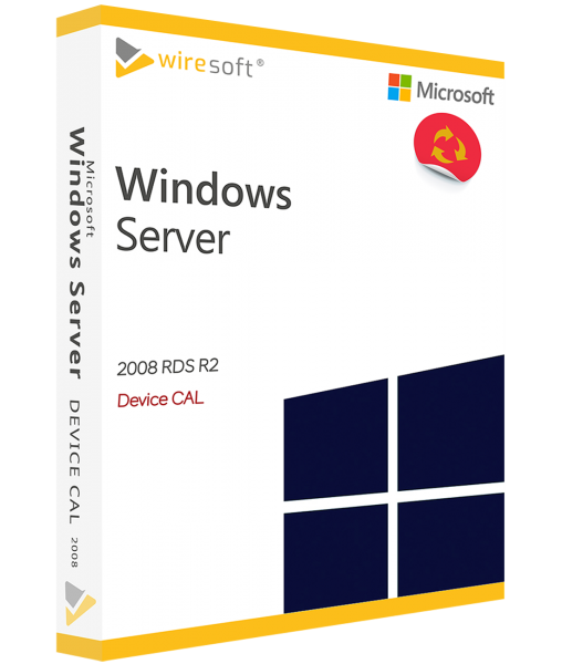 MICROSOFT REMOTE DESKTOP SERVICES 2008 R2 DEVICE CAL