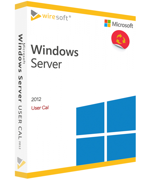 MICROSOFT WINDOWS SERVER 2012 USER CAL